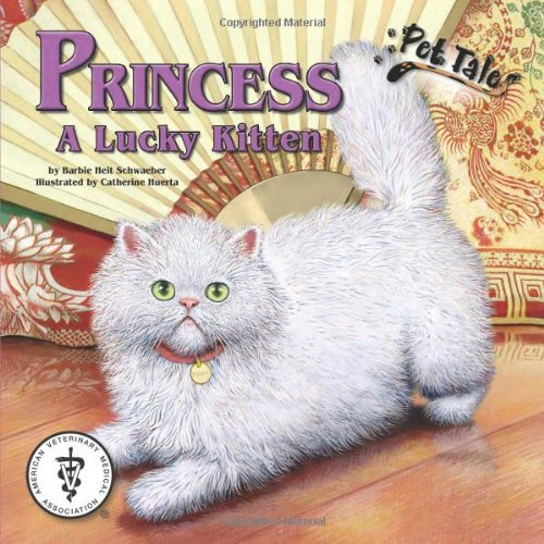 """9781592496778: Princess: A Lucky Kitten (Pet Tales Book & Toy Set) (Mini book and stuffed toy) (Micro Paperback Book, 6"""" Toy) (Micro Paperback Book, 6 Toy)"""