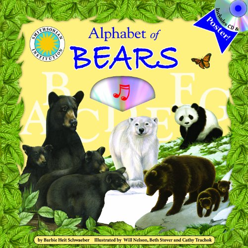 9781592496891: Alphabet of Bears - A Smithsonian Alphabet Book (with audiobook CD, and poster)