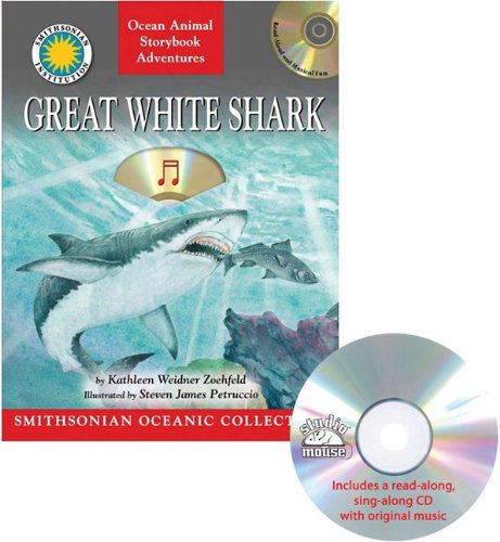 Great White Shark (Staplebound, Paperback Book, CD) (1592496997) by Kathleen Weidner Zoehfeld