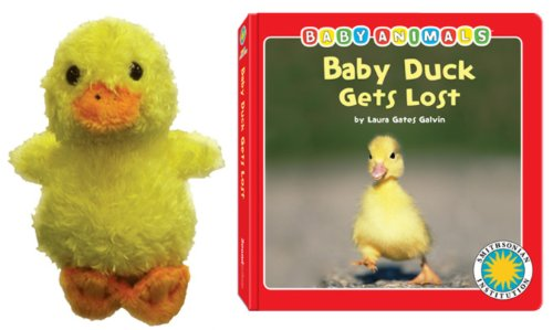 9781592497898 Baby Duck Gets Lost Baby Animals Book Toy Sets