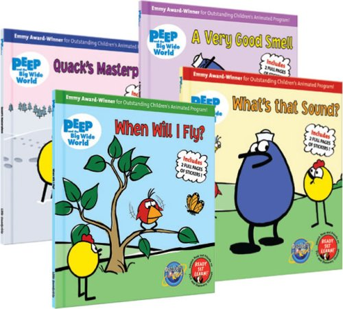 9781592498215: Peep and the Big Wide World Picture Book Collection [With Sticker(s)]