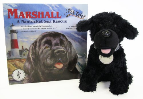 9781592498574: Marshall: A Nantucket Sea Rescue (Pet Tales Book & Toy Set) (Mini book and stuffed toy)