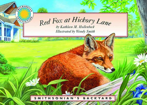 9781592498994: Red Fox at Hickory Lane - a Smithsonian's Backyard Book (with audiobook CD)
