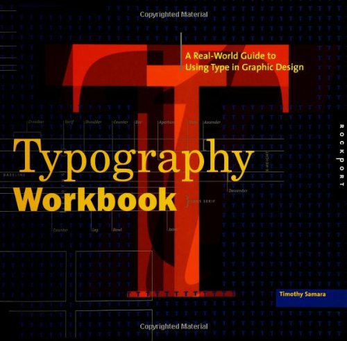 9781592530816: Typography Workbook: A Real-World Guide to Using Type in Graphic Design