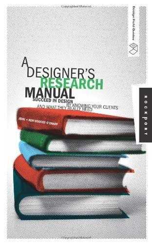 9781592532575: A Designer's Research Manual: Succeed in Design by Knowing Your Clients and What They Really Need (Design Field Guides)