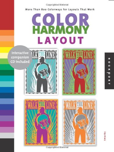 9781592532582: Color Harmony: Layout: More than 800 Color Ways for Layouts That Work