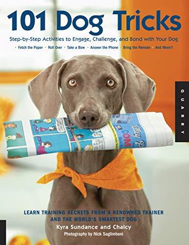 101 Dog Tricks: Step by Step Activities: Kyra Sundance, Chalcy