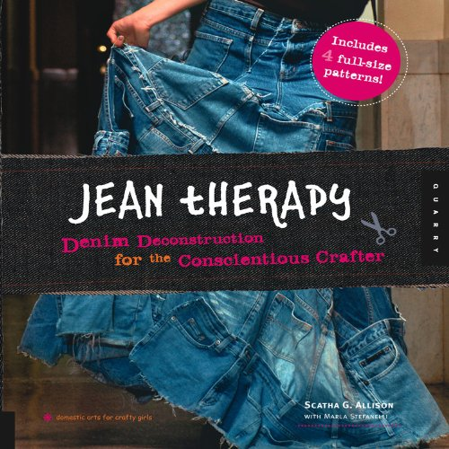 9781592533886: Jean Therapy (Domestic Arts for Crafty Girls)