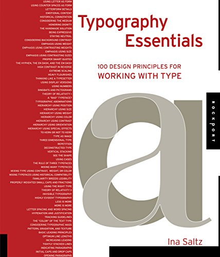 9781592535231: Typography Essentials: 100 Design Principles for Working with Type