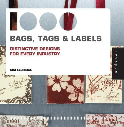 9781592535330: 1,000 Bags, Tags, and Labels: Distinctive Design for Every Industry
