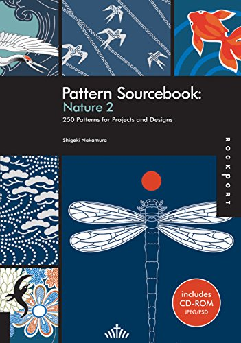 9781592535590: Pattern Sourcebook: Nature 2: 250 Patterns for Projects and Designs
