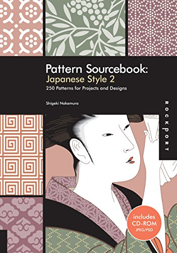 Pattern Sourcebook: Japanese Style 2: 250 Patterns for Projects and Designs (v. 2): Nakamura, ...
