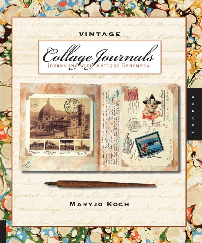 9781592535767: Vintage Collage Journals