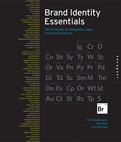 Brand Identity Essentials: 100 Principles for Designing Logos and Building Brands: Budelmann, Kevin...