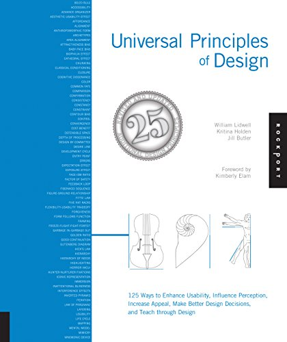 9781592535873: Universal Principles of Design, Revised and Updated: 125 Ways to Enhance Usability, Influence Perception, Increase Appeal, Make Better Design Decisions, and Teach through Design