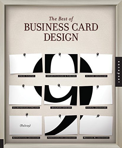 9781592535965: The Best of Business Card Design 9