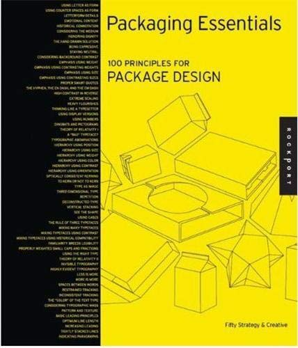 9781592536030: Packaging Essentials: 100 Design Principles for Creating Packages (Design Essentials)