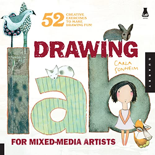9781592536139: Drawing Lab for Mixed-Media Artists: 52 Creative Exercises to Make Drawing Fun (Lab Series)