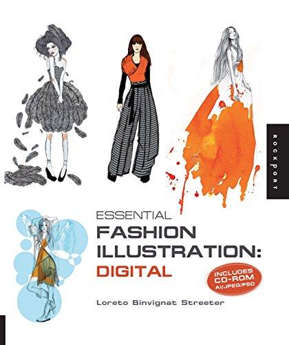 9781592536320: Essential Fashion Illustration: Digital