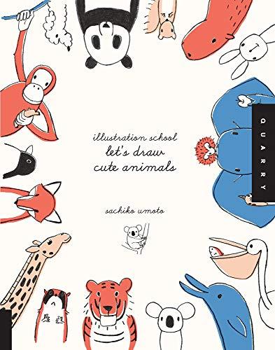 9781592536450: Illustration School: Let's Draw Cute Animals
