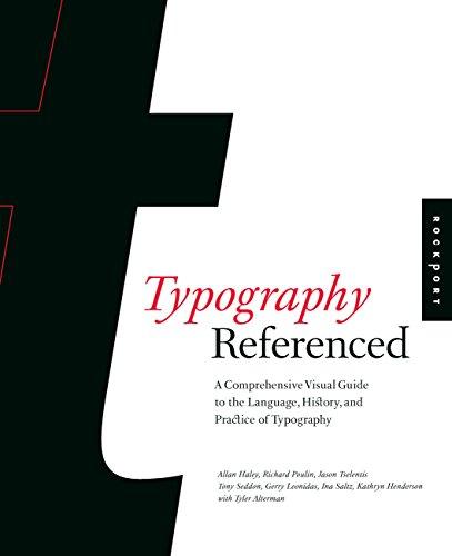 Typography, Referenced: Tselentis, Jason; Haley, Allan; Poulin, Richard; Seddon, Tony; Leonidas, ...