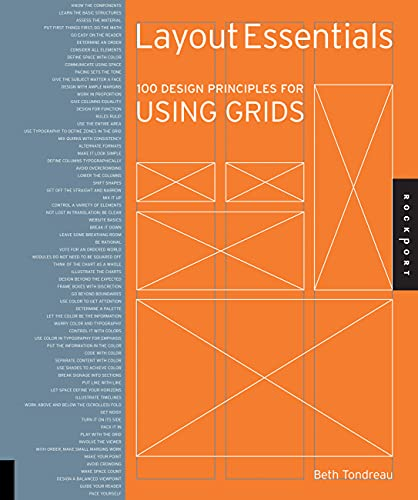 9781592537075: Layout Essentials: 100 Design Principles for Using Grids (Design Essentials)