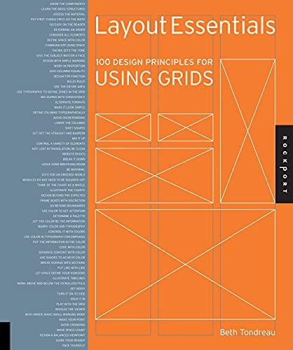 9781592537075: Layout Essentials: 100 Design Principles for Using Grids (Design Essentials)