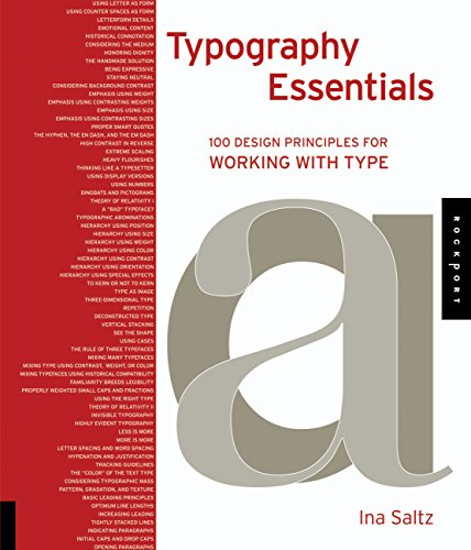 9781592537402: Typography Essentials: 100 Design Principles for Working with Type (Design Essentials)