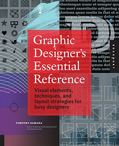 9781592537433: Graphic Designer's Essential Reference: Visual Ingredients, Techniques, and Layout Strategies for Graphic Designers