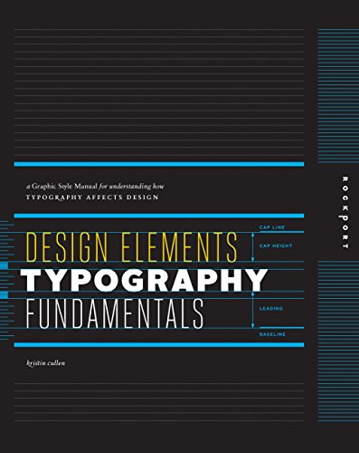 9781592537679: Design Elements, Typography Fundamentals: A Graphic Style Manual for Understanding How Typography Affects Design