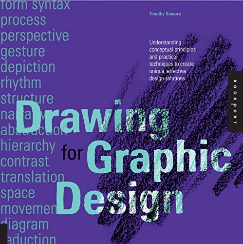 9781592537815: Drawing for Graphic Design: Understanding Conceptual Principles and Practical Techniques to Create Unique, Effective Design Solutions