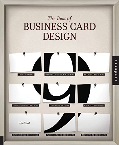 9781592537907: The Best of Business Card Design 9 (Best of Business Card Design (Paperback))
