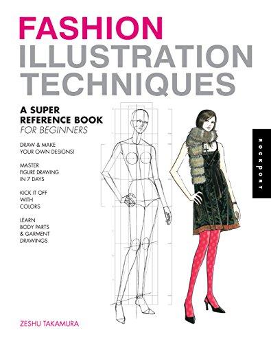 Fashion Illustration Techniques: A Super Reference Book: Takamura, Zeshu