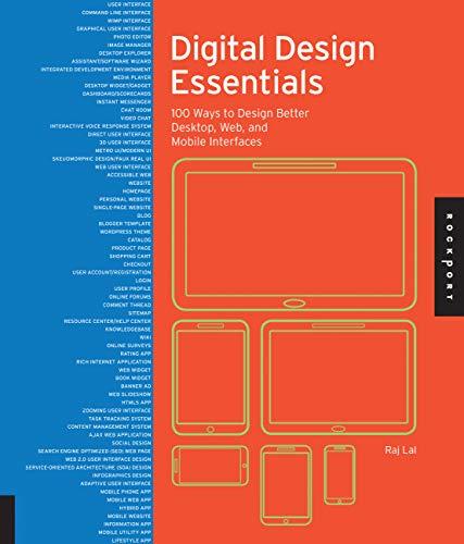 Digital Design Essentials: 100 Ways to Design: Lal, Rajesh