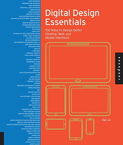 9781592538034: Digital Design Essentials: 100 Ways to Design Better Desktop, Web, and Mobile Interfaces