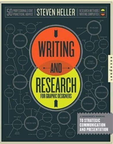 9781592538041: Writing and Research for Graphic Designers: A Designer's Manual to Strategic Communication and Presentation