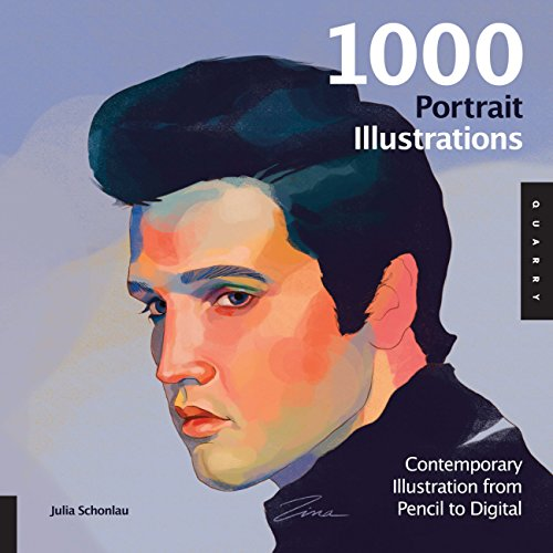 9781592538096: 1,000 Portrait Illustrations: Contemporary Illustration from Pencil to Digital (1000 Series)
