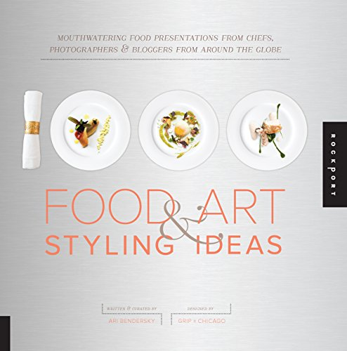 9781592538591: 1,000 Food Art and Styling Ideas: Mouthwatering Food Presentations from Chefs, Photographers, and Bloggers from Around the Globe (1000 Series)