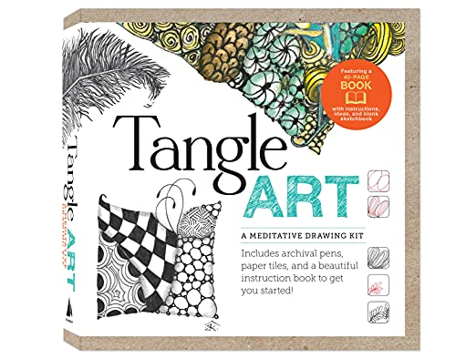 9781592538898: Tangle Art: A Meditative Drawing Kit