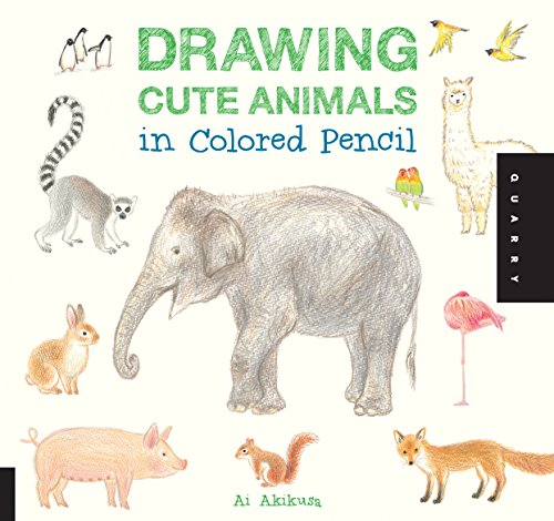 9781592539369: Drawing Cute Animals in Colored Pencil