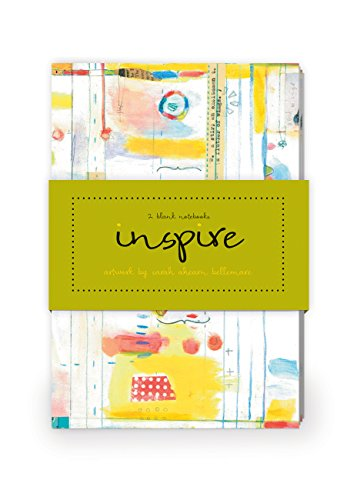 Inspire Artwork by Sarah Ahearn Bellemare Journal Collection 1: Set of two 64-page notebooks: Sarah...