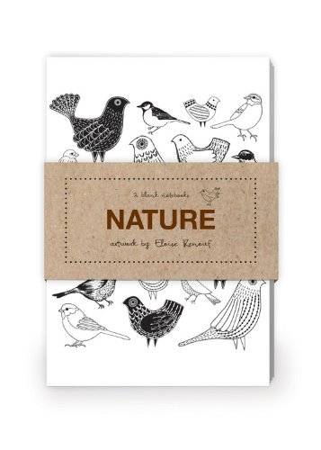 Nature Artwork by Eloise Renouf Journal Collection 2: Set of two 64-page notebooks: Quarry Books