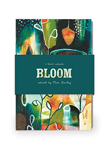 9781592539758: Bloom Artwork by Flora Bowley Journal Collection 2: Set of two 64-page notebooks