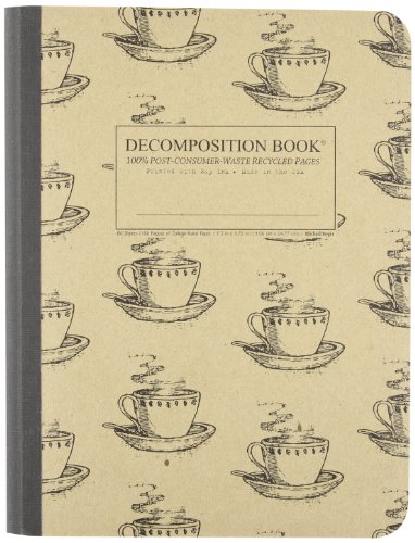 Coffee Cup Decomposition Book: College-ruled Composition Notebook With 100 Post-consumer-waste Recycled Pages