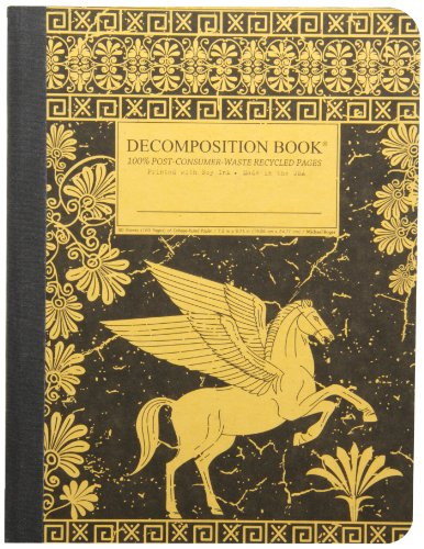 9781592540877: Pegasus Decomposition Book: College-Ruled Composition Notebook With 100% Post-Consumer-Waste Recycled Pages