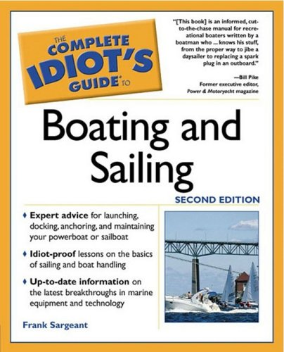 9781592570072: Complete Idiot's Guide to Boating & Sailing