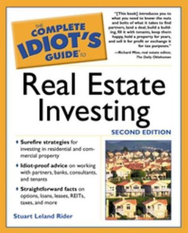9781592570638: Complete Idiot's Guide to Real Estate Investing, 2E (The Complete Idiot's Guide)