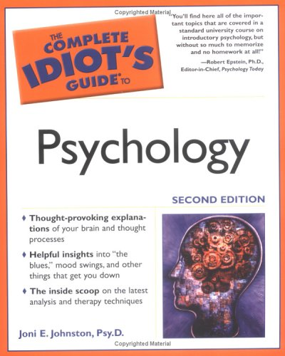 9781592570690: The Complete Idiot's Guide to Psychology