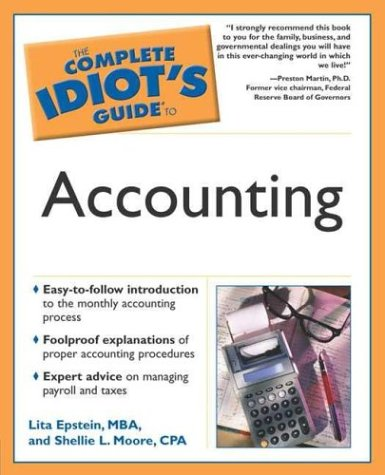 9781592571260: The Complete Idiot's Guide to Accounting