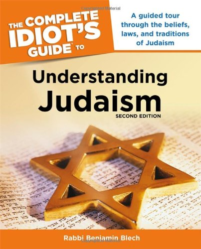 9781592571314: The Complete Idiot's Guide to Understanding Judaism. 2nd Edition (Idiot's Guides)